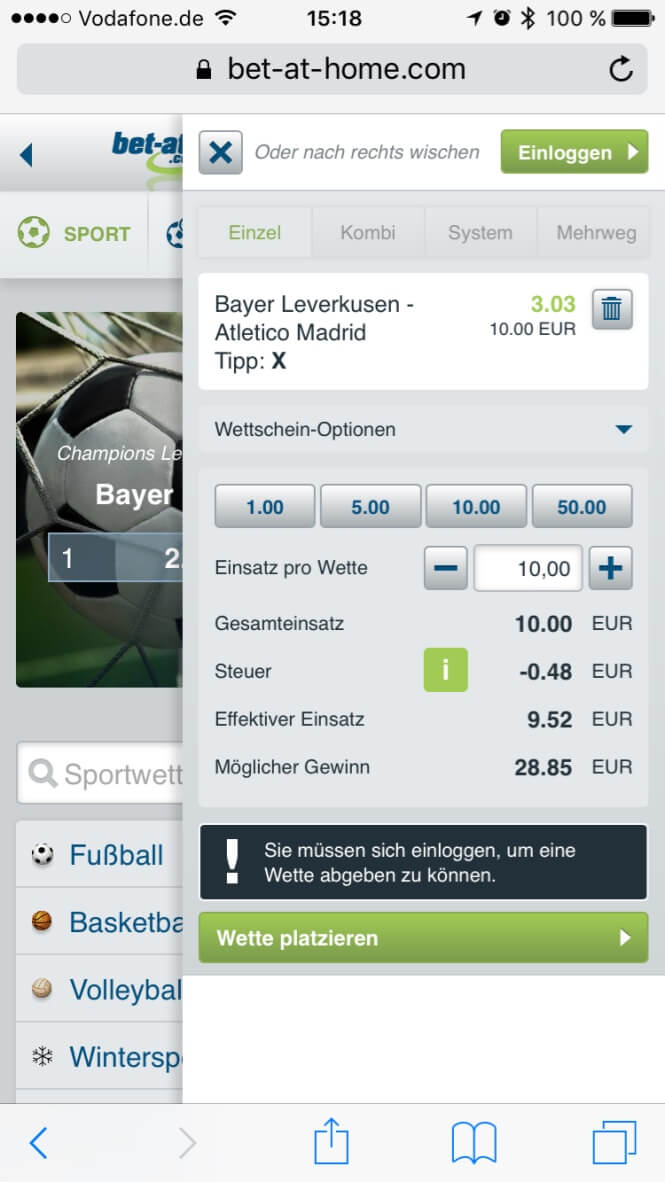 Bet At Home Deutschland