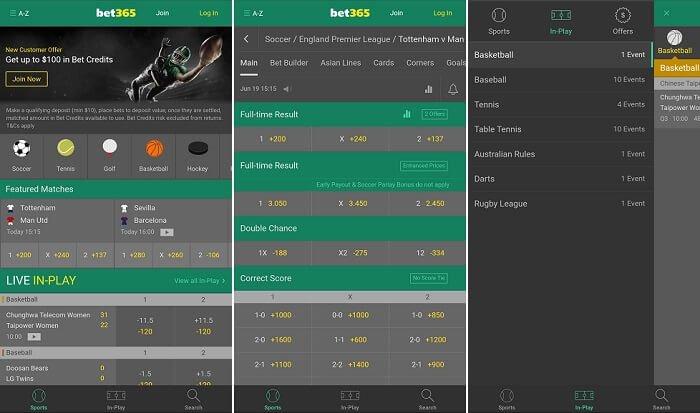Bet365 App Sportwetten