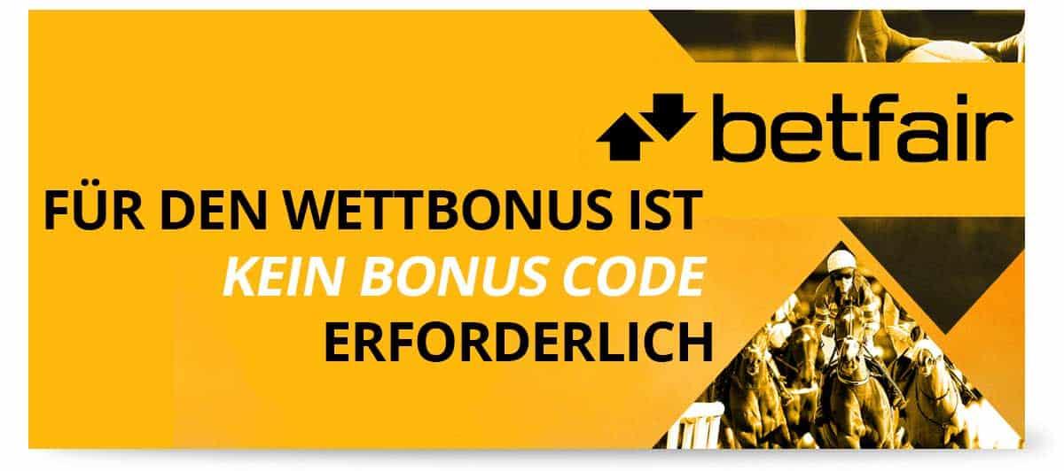 Betfair Bonus Einzahlung