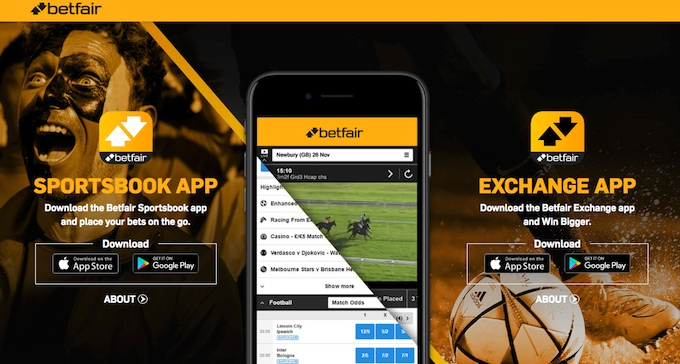 Betfair App Android und iOS